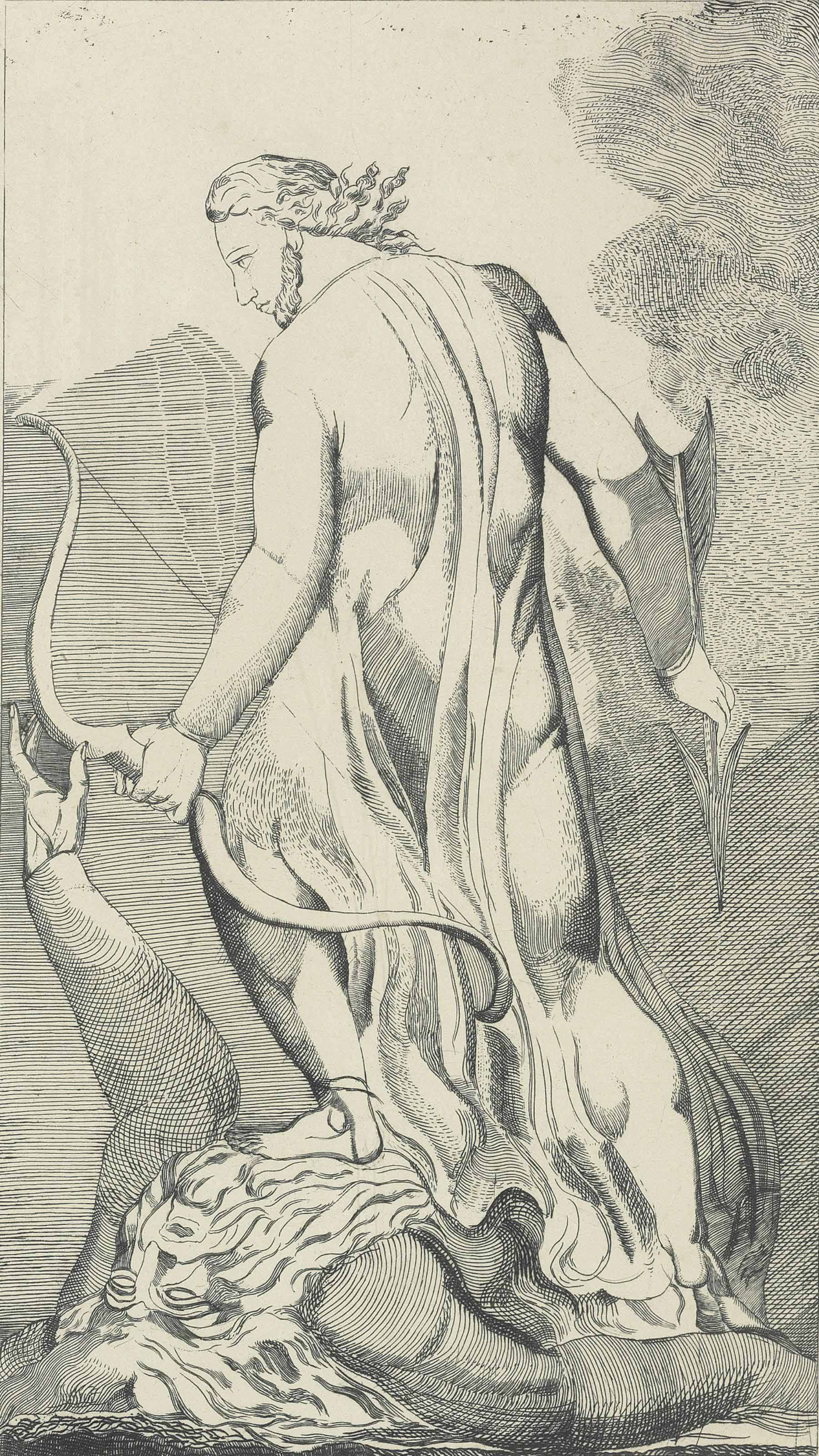 Christ trampling upon Urizen