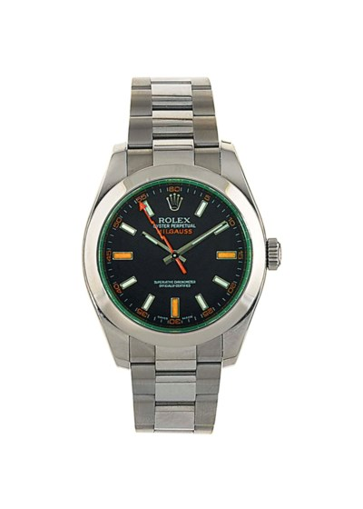 A stainless steel, automatic,