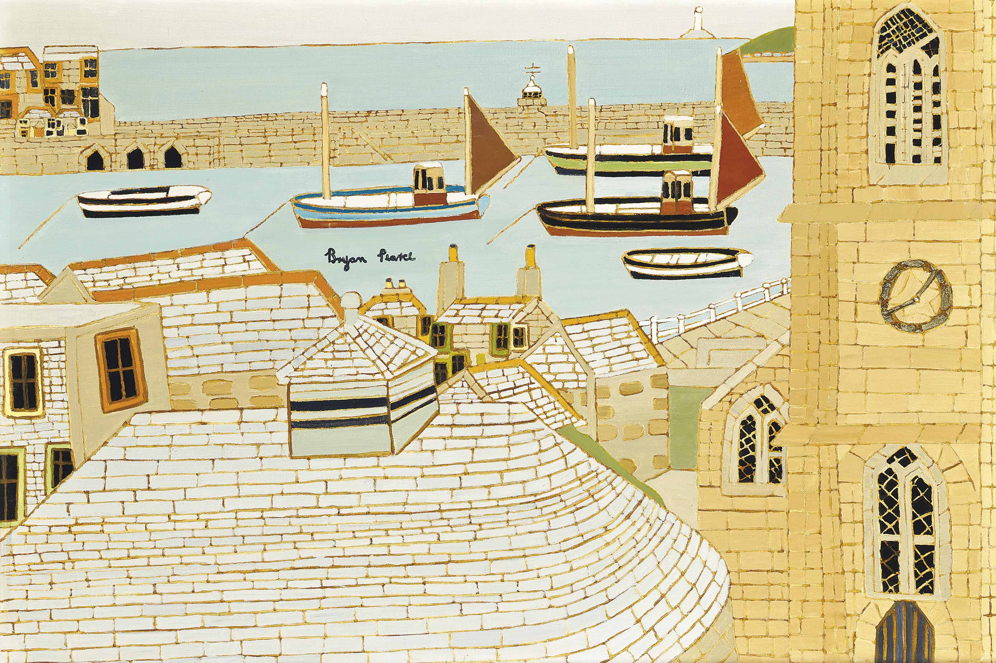 St Ives, from the Studio