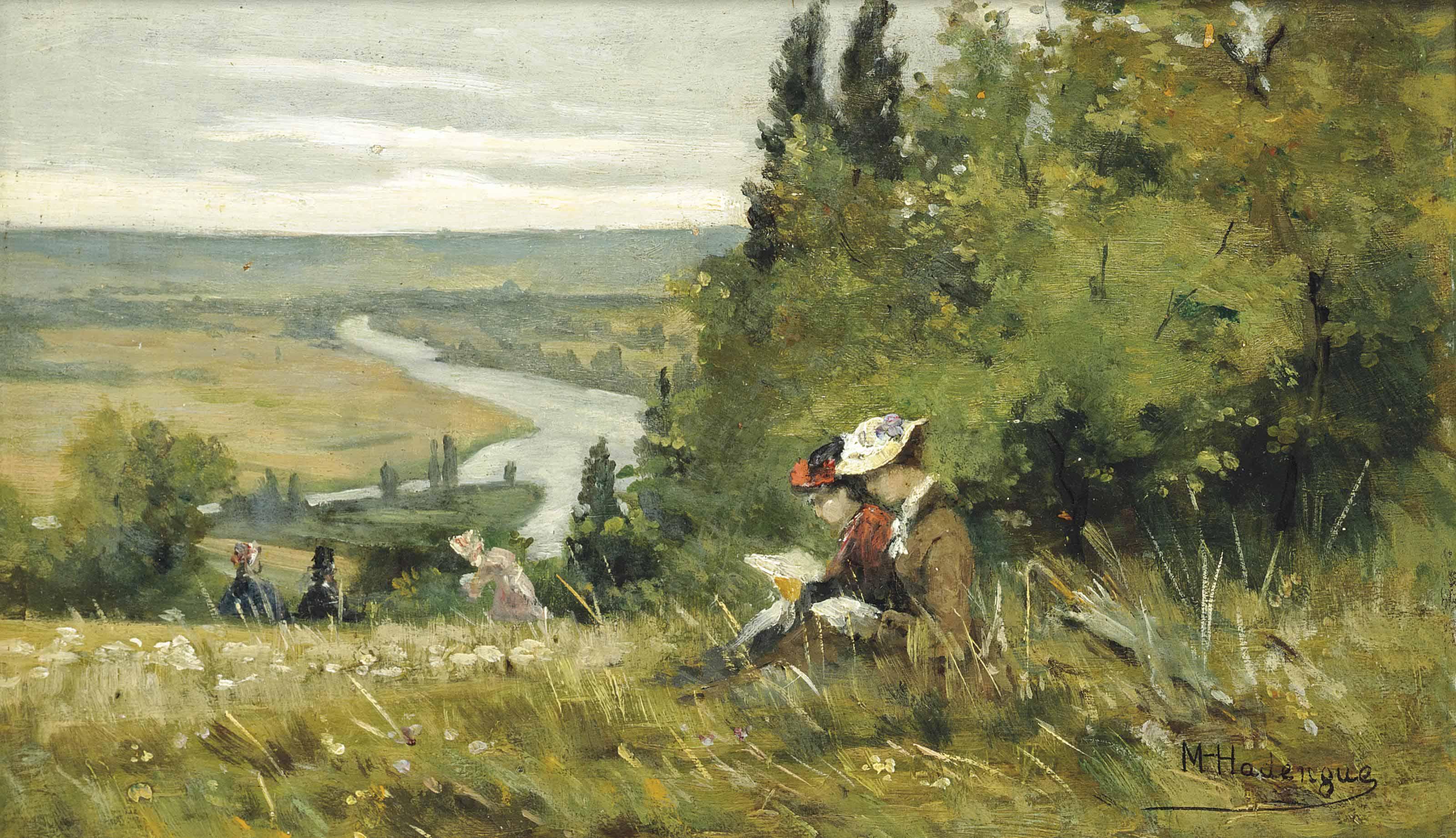 Louis Michel Hadengue (FRENCH, 19th Century)