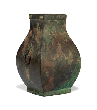 A SMALL CHINESE ARCHAIC BRONZE