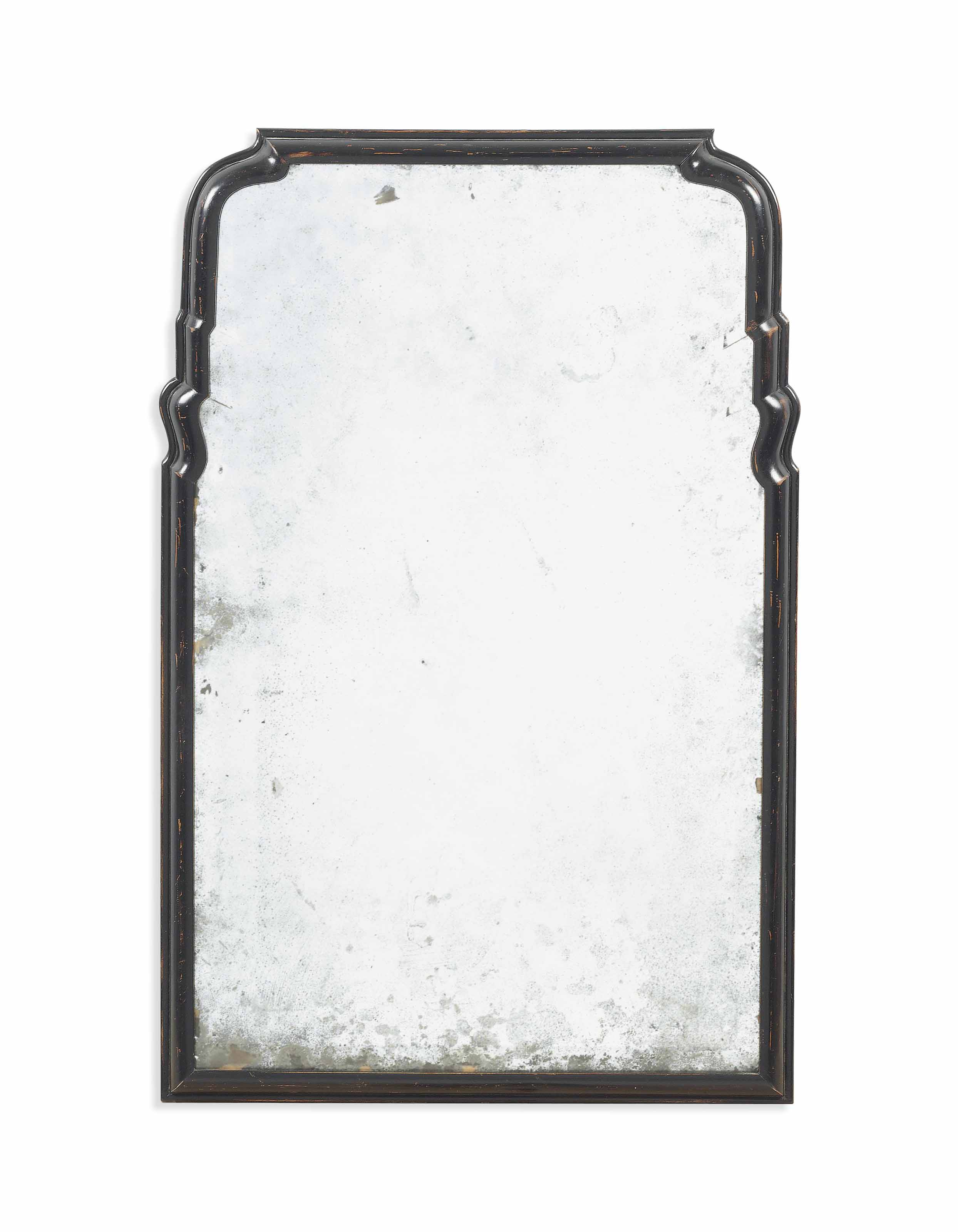 queen anne mirror flanking lot 17 queen anne mirror early 18th century in later ebonised frame