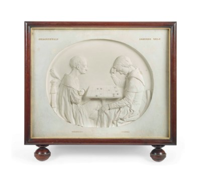 AN ENGLISH PLASTER RELIEF DEPI