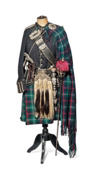 A HIGHLAND DRESS OUTFIT INCLUD