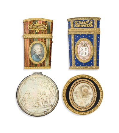 A FRENCH GOLD-MOUNTED LACQUER