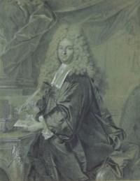 Portrait of Joseph Jean-Baptiste Fleuriau d'Armenonville (1661-1728 ), Conseiller d'Etat , three-quarter length, wearing official robes and a periwig