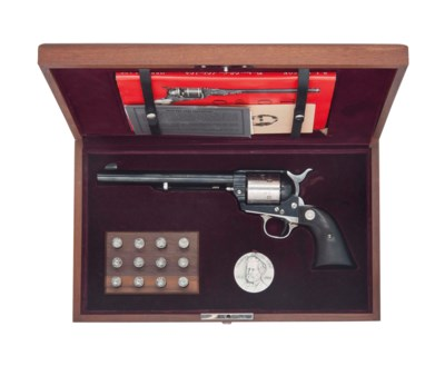 A CASED .45 (COLT) 'SINGLE ACT