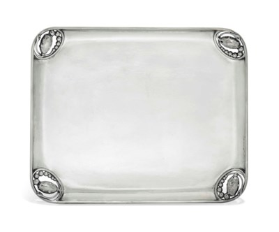 A DANISH TRAY DESIGNED BY GEOR