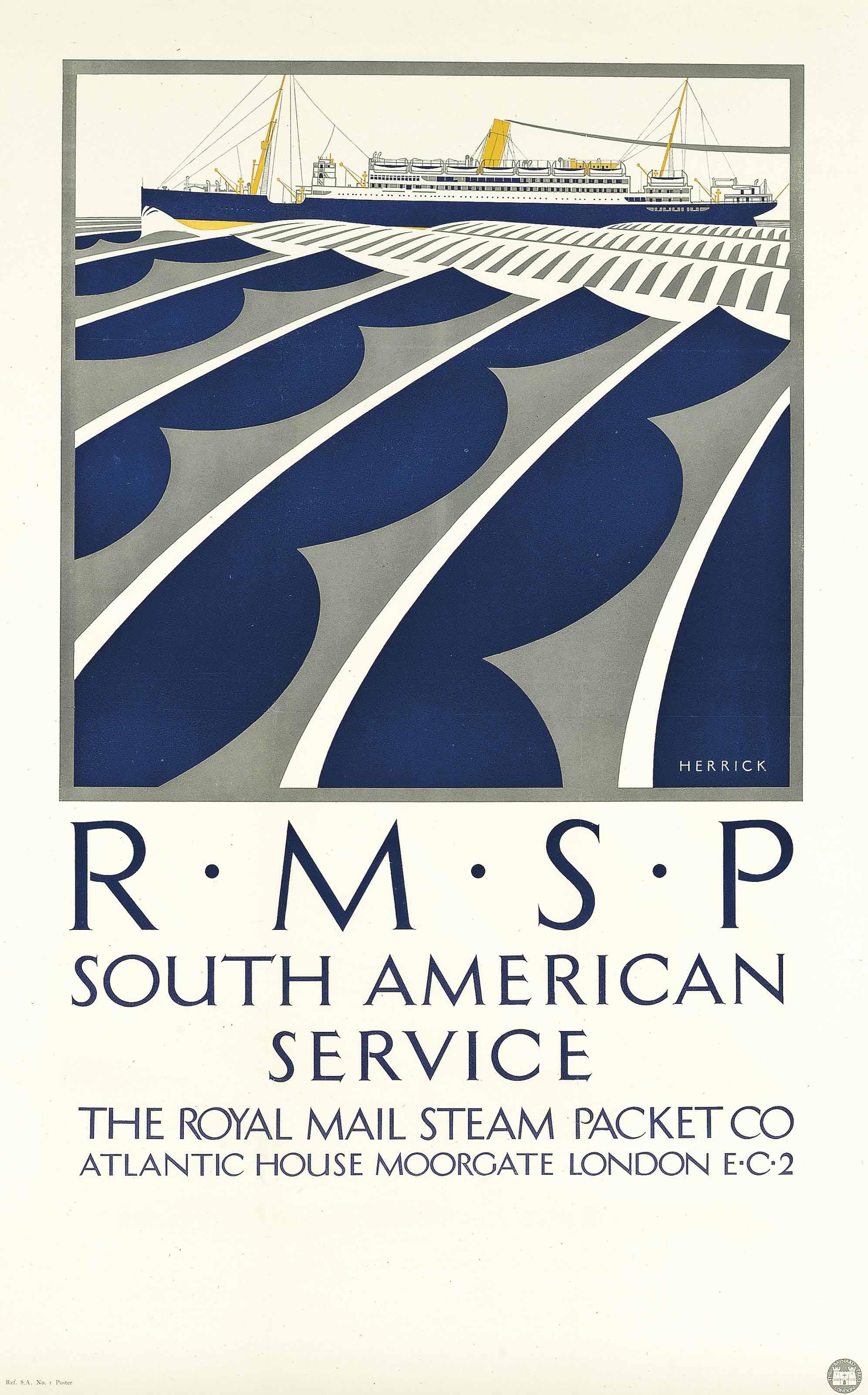 R.M.S.P SOUTH AMERICAN SERVICE