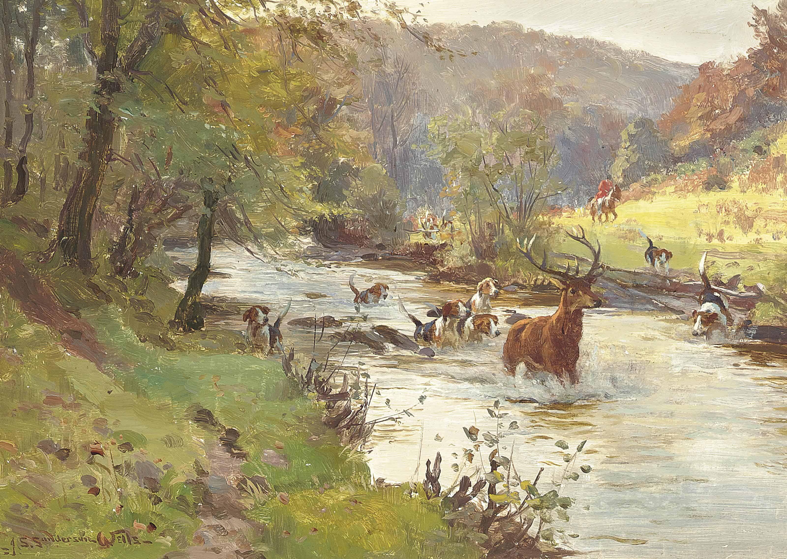 John Sanderson Sanderson-Wells, R.B.A., R.I. (1872-1955)