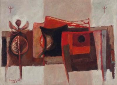 Zakaria Zeini (Egyptian, 1932-