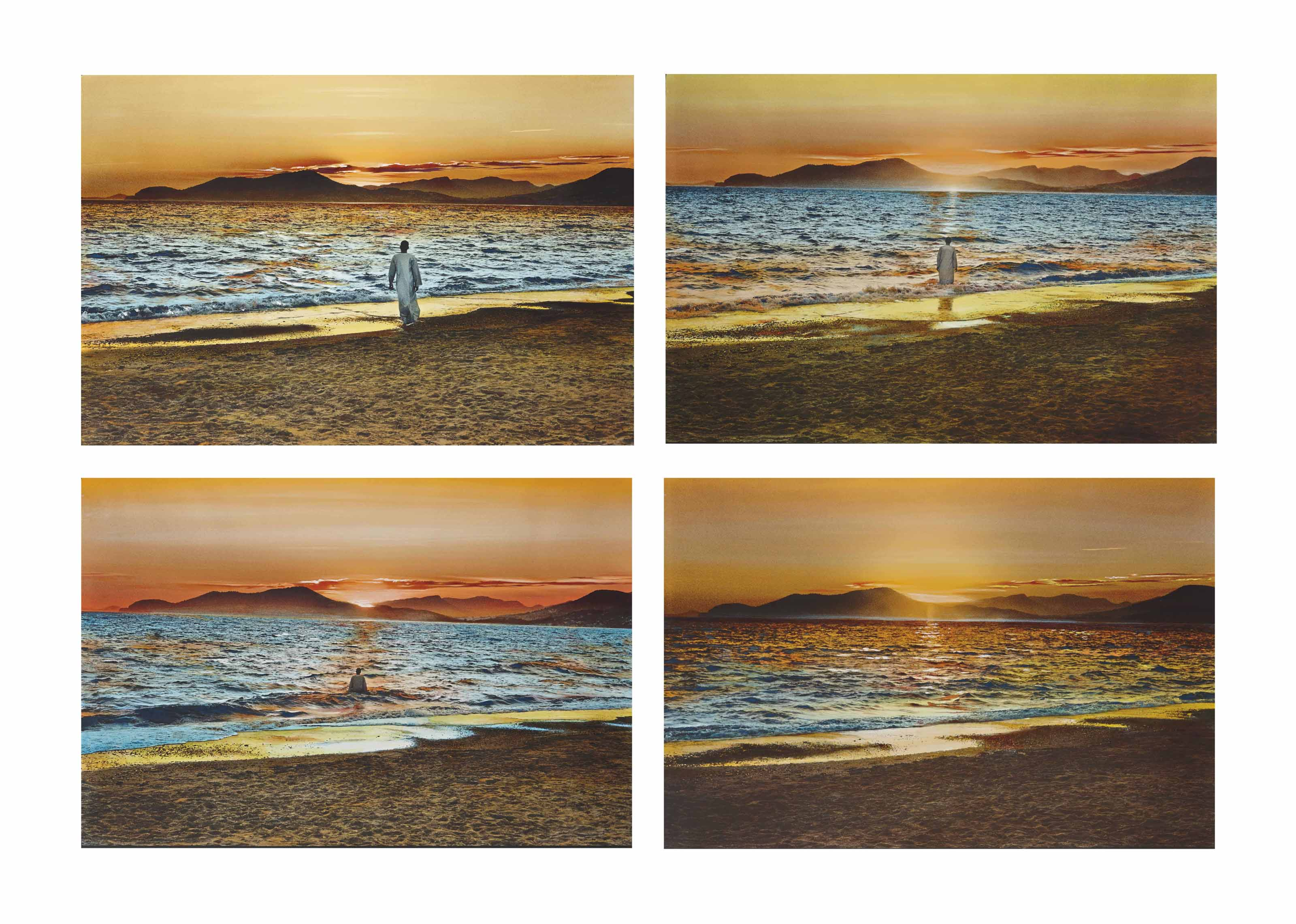 I Will Go to Paradise - Self-Portrait, Hyères, 2008
