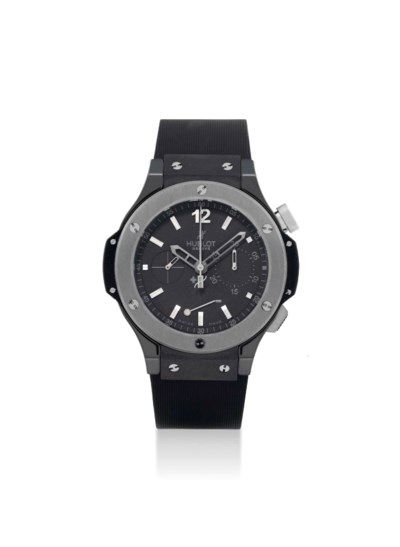 HUBLOT. A LARGE TUNGSTEN AND C