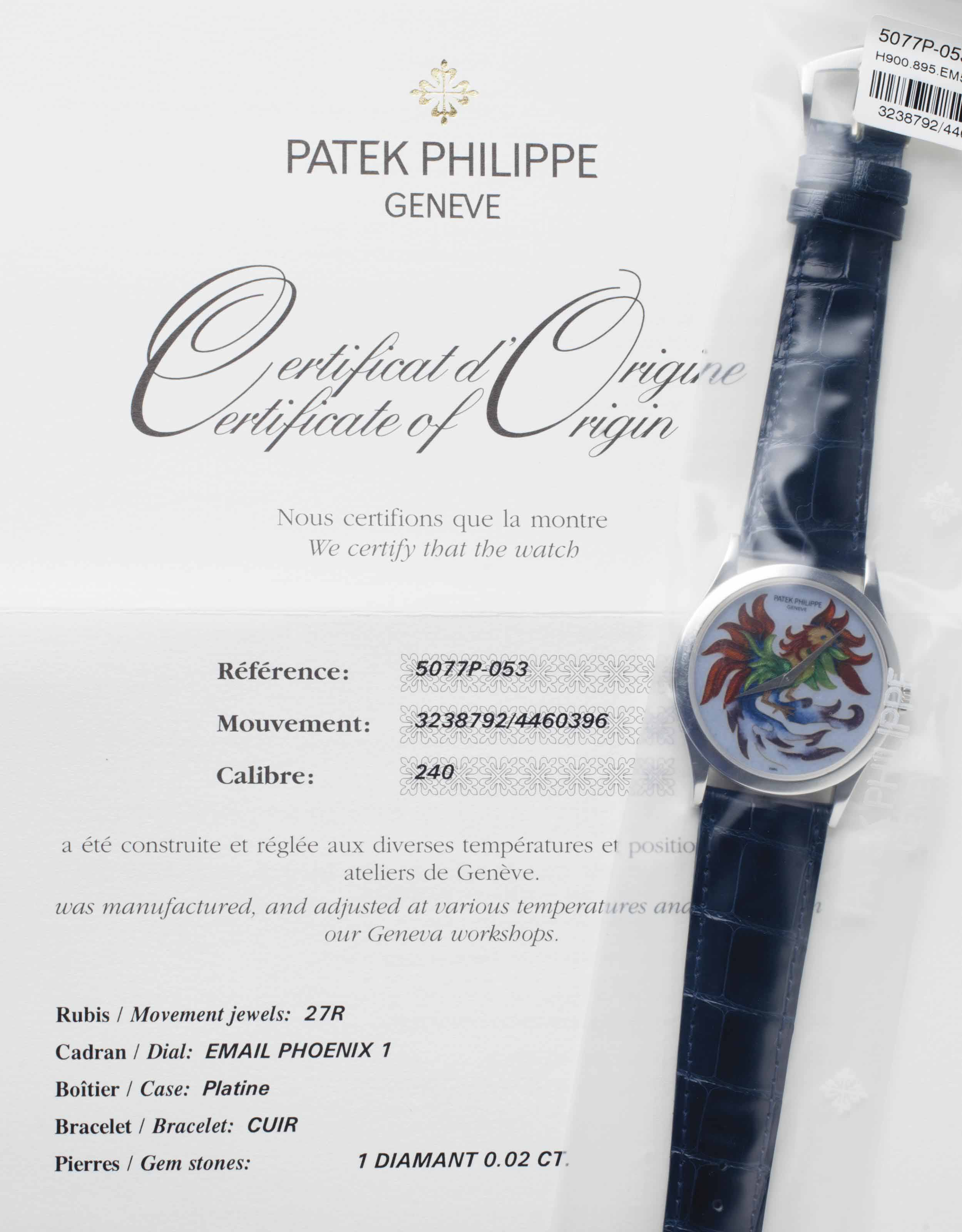 platinum box case essay Patek philippe a fine and rare platinum perpetual calendar chronograph wristwatch with moon phases, original certificate, box and additional platinum case back.