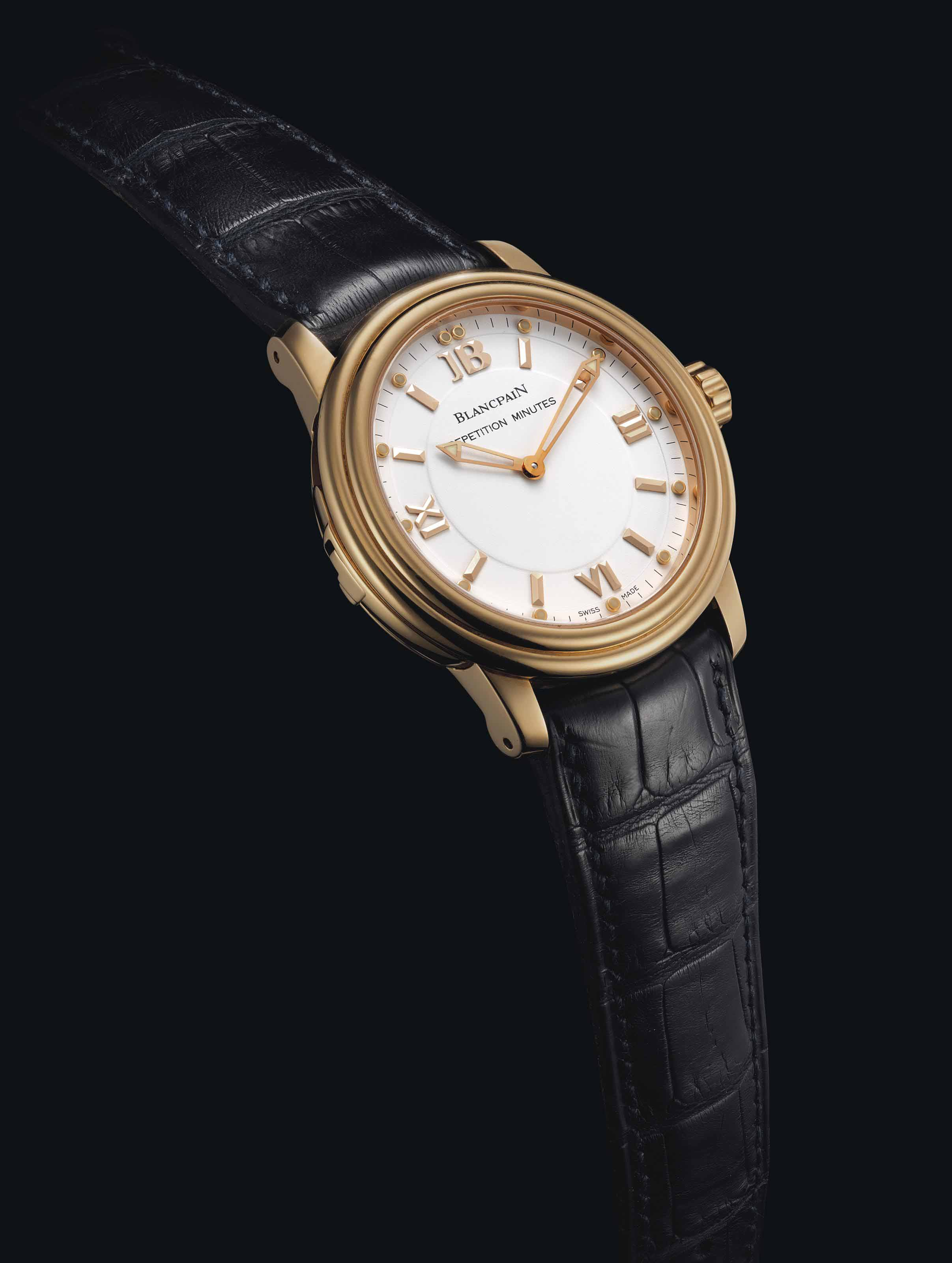 BLANCPAIN. A RARE AND UNIQUE 1