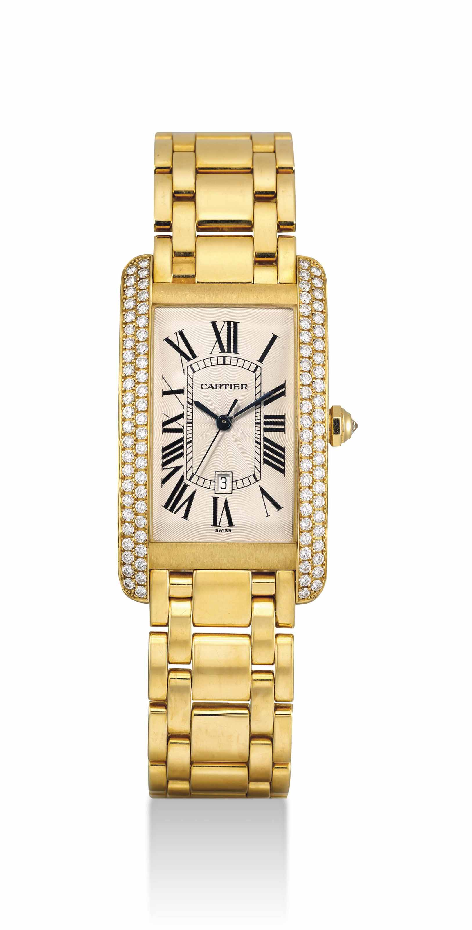 CARTIER. A LARGE AND FINE 18K