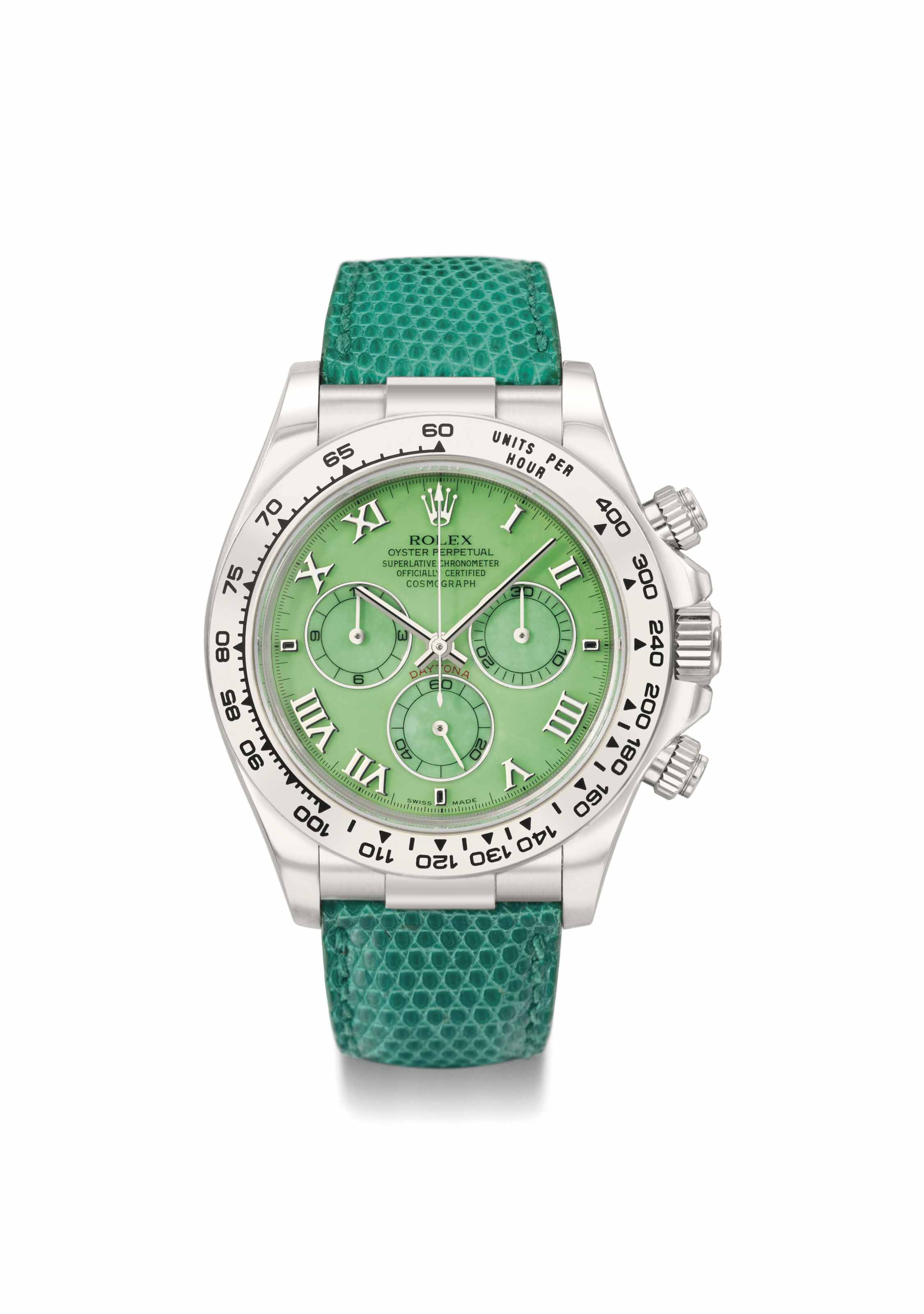 Rolex. A rare, unusual and att