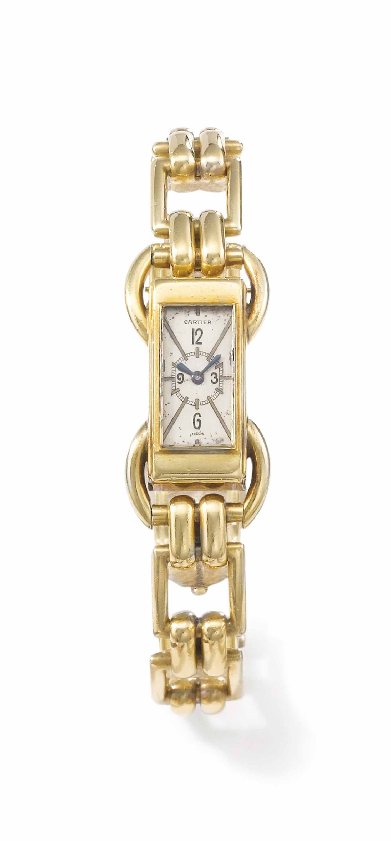 Cartier. A fine and unusual 18