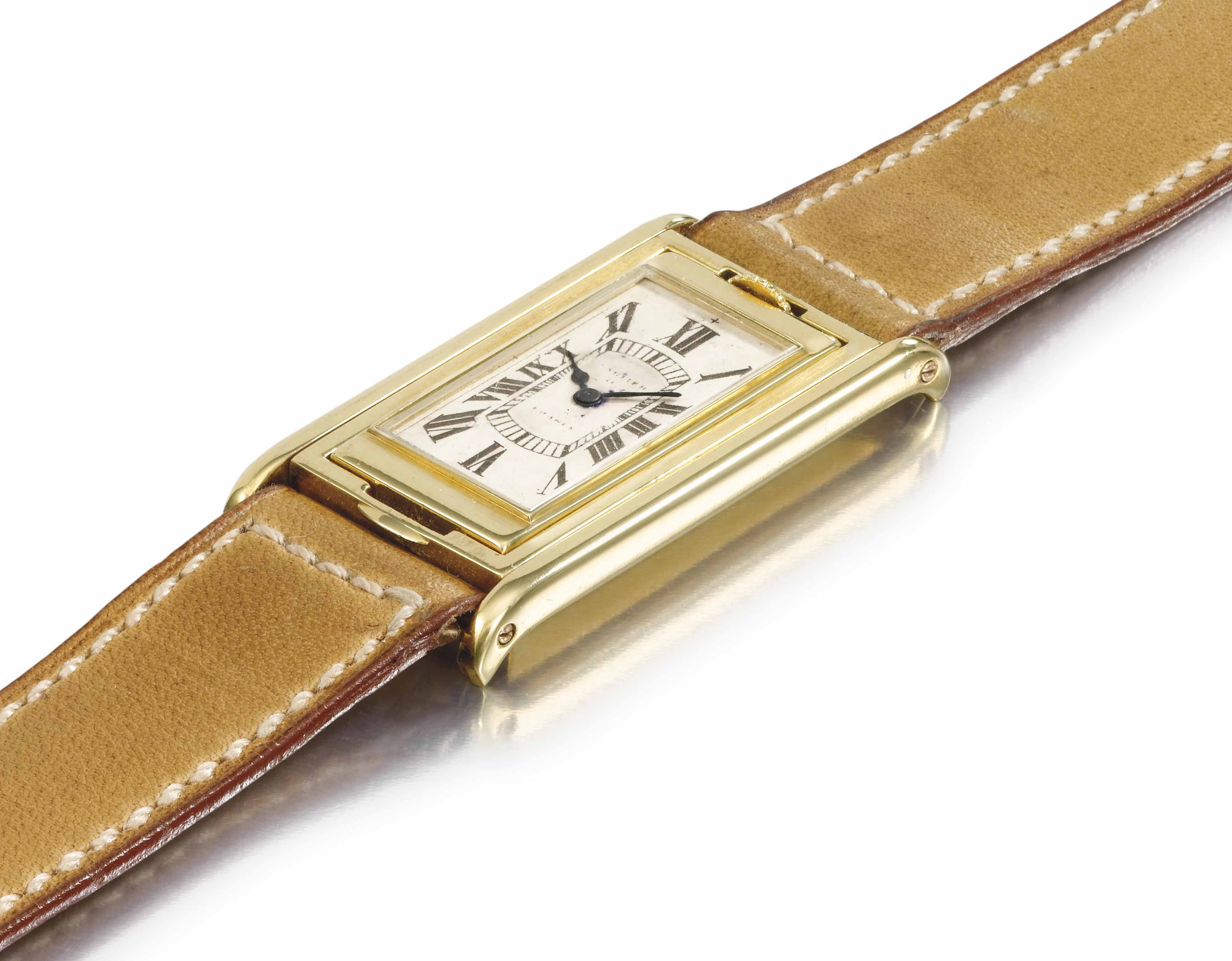 Cartier. A very rare 18k Gold