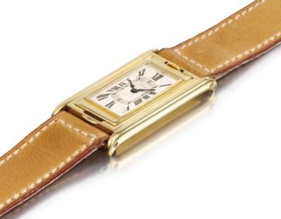Cartier. A very rare 18k Gold