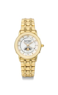 Blancpain. A lady's 18K gold a