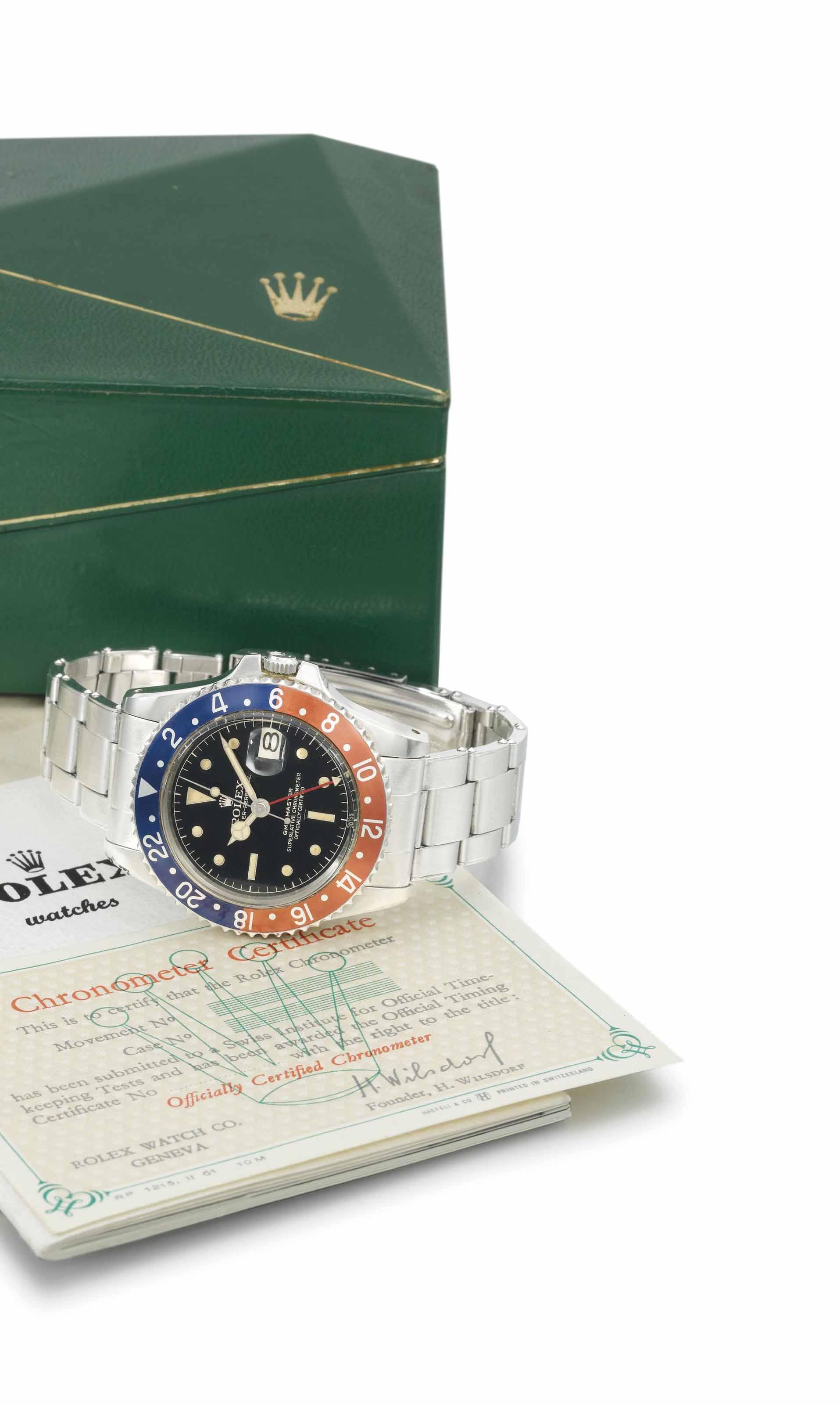 Rolex. A rare and attractive s