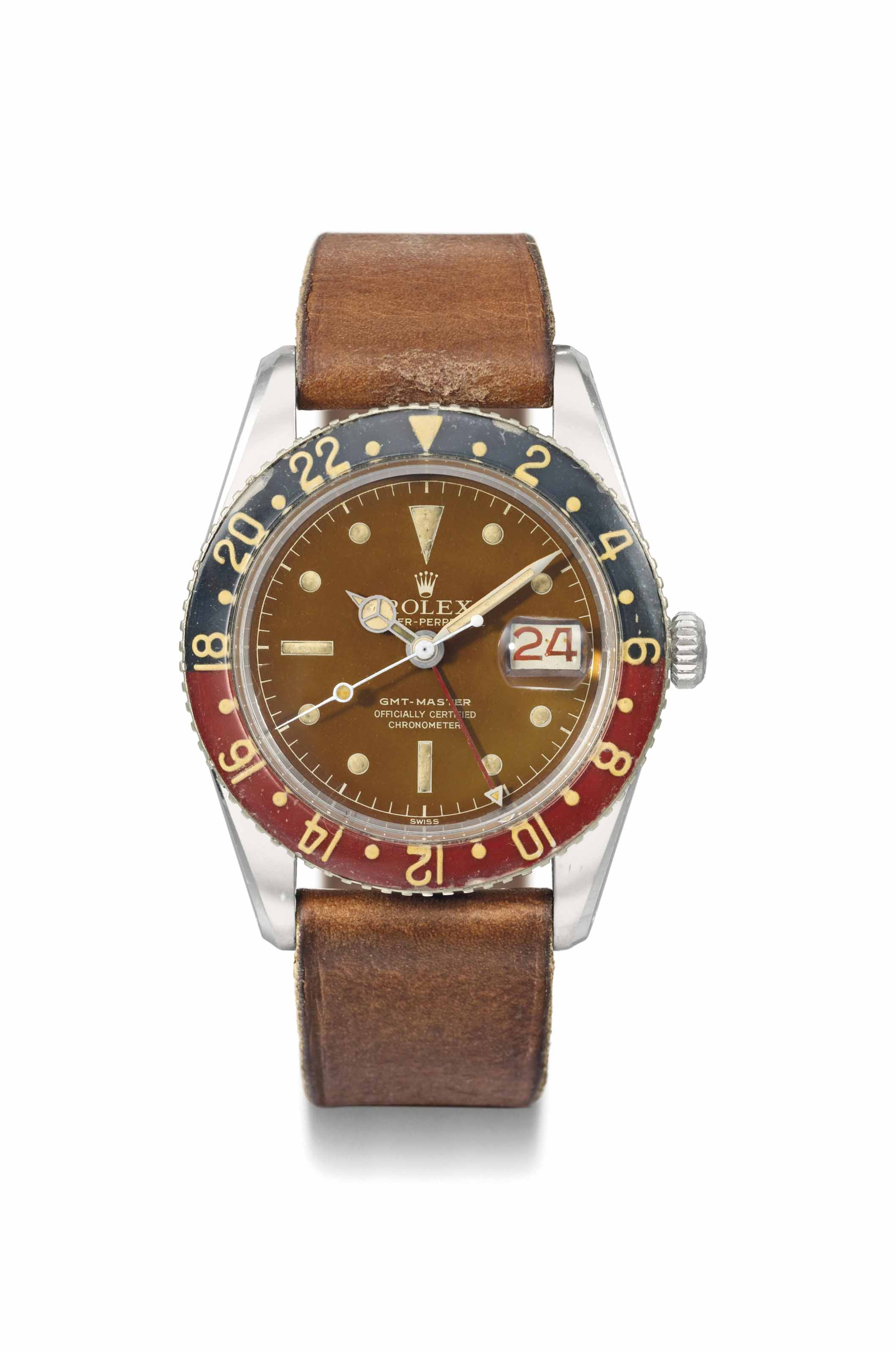Rolex. A very fine and highly