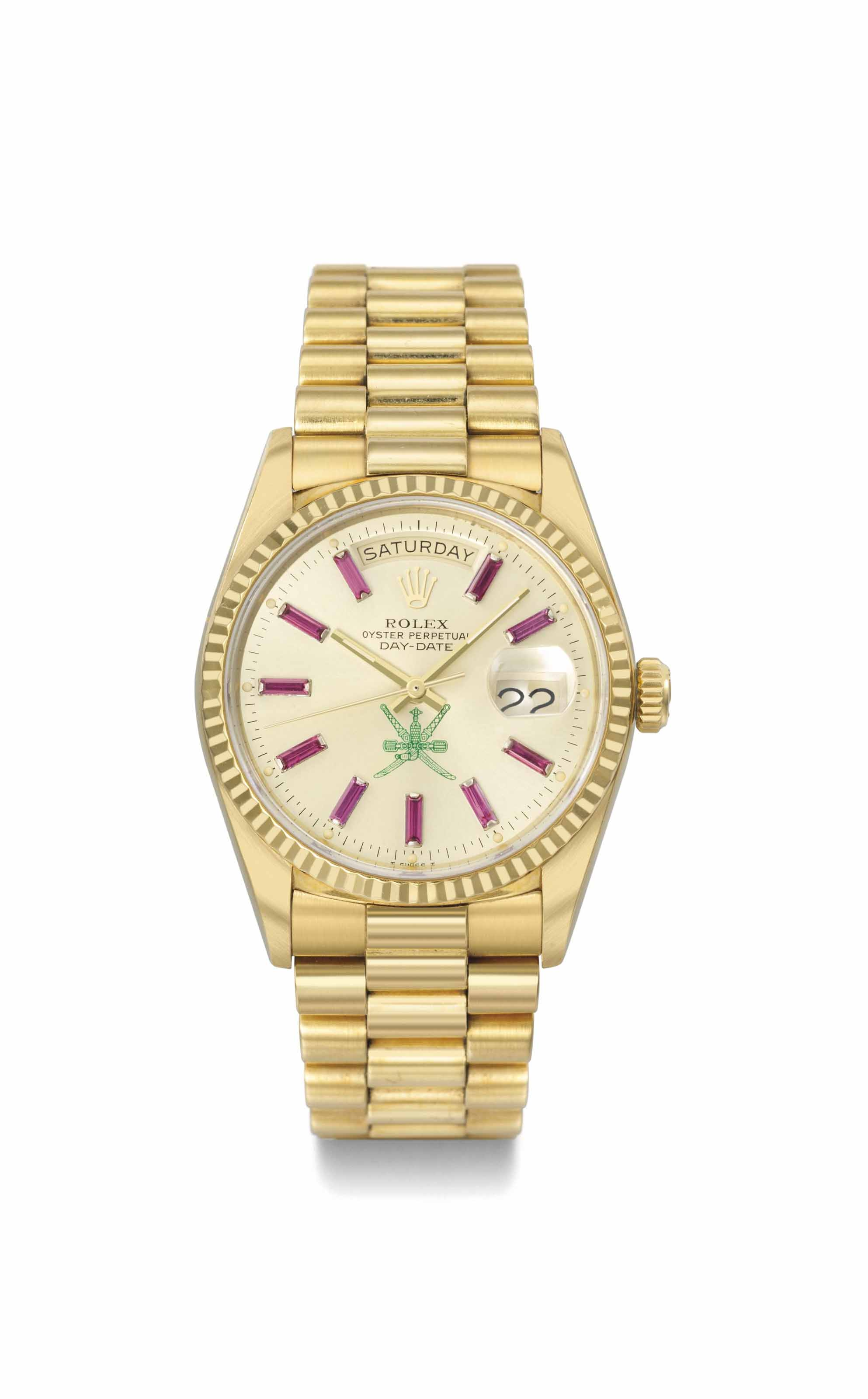 Rolex. A rare and very attract