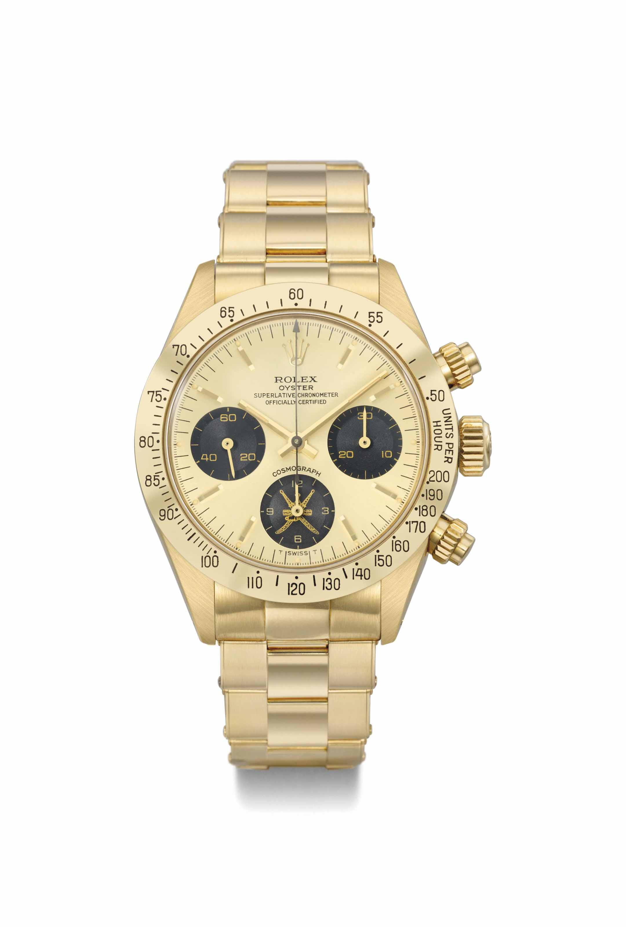 Rolex. An extremely rare and v