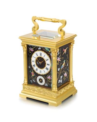 Milne. A decorative gilt brass