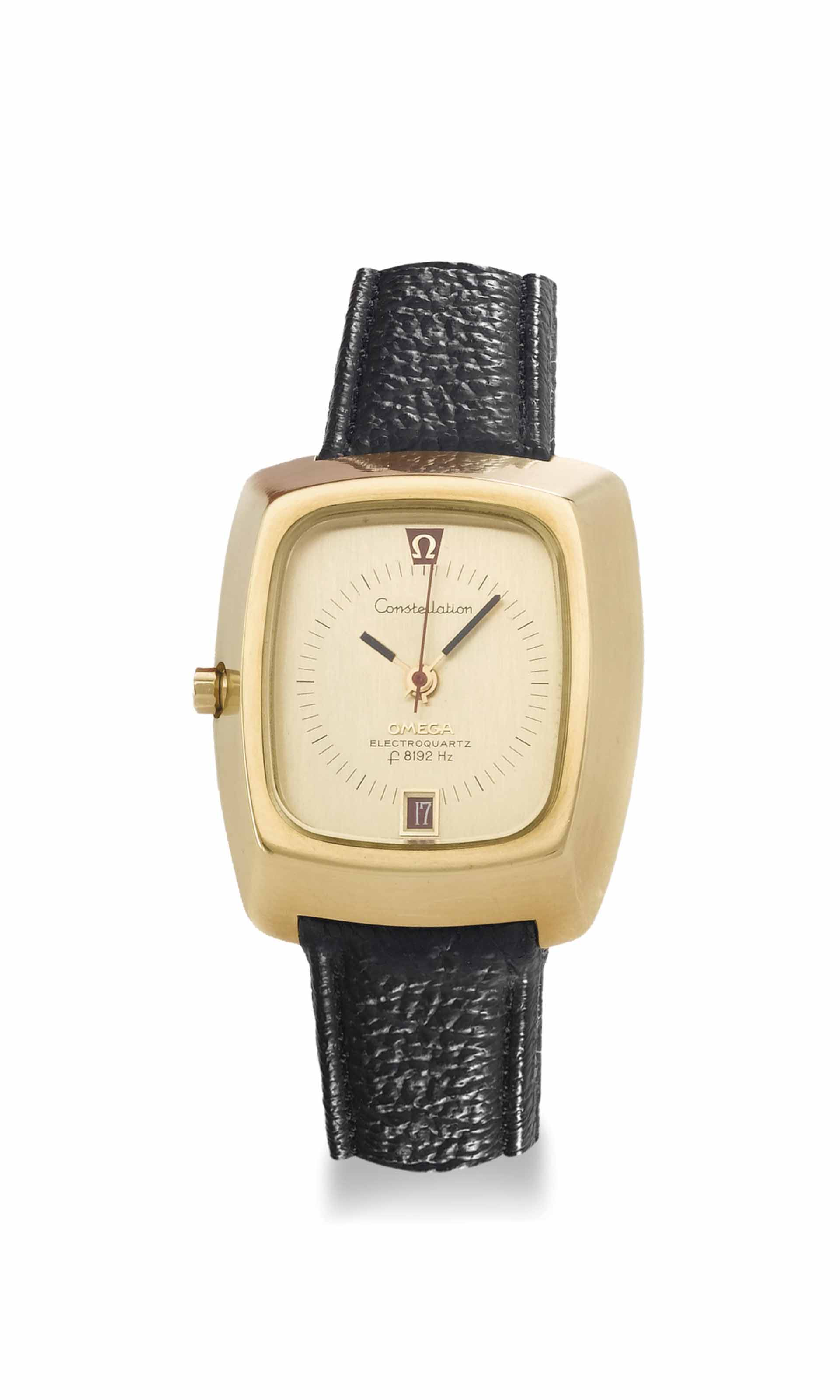 Omega. An unusual and large 18
