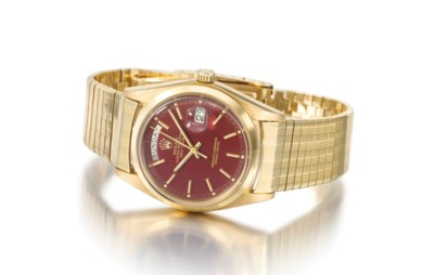 Rolex. An attractive 18K gold