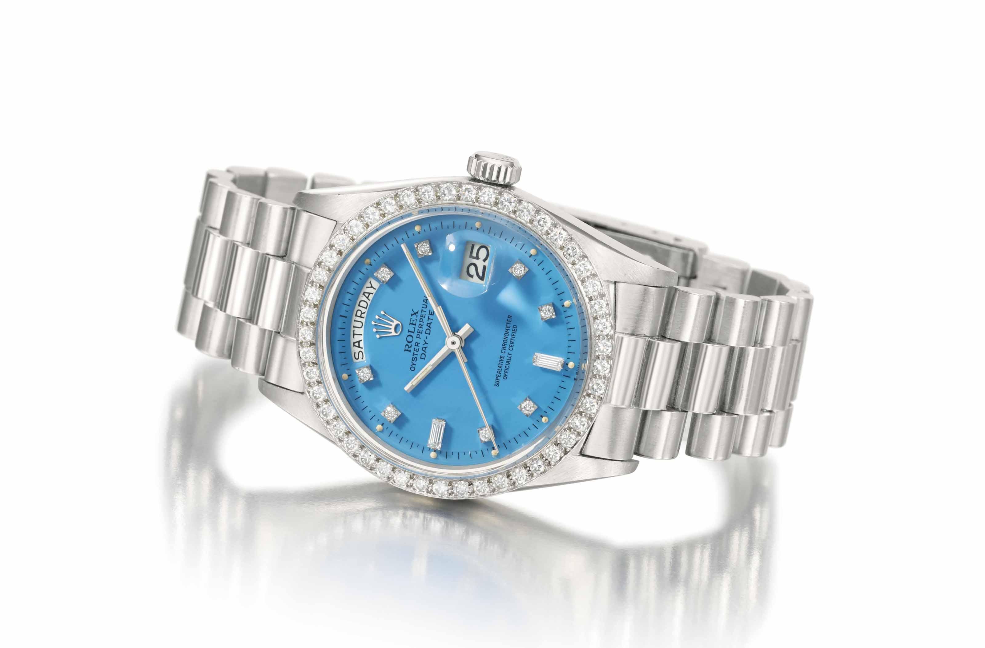 Rolex. A rare and attractive p