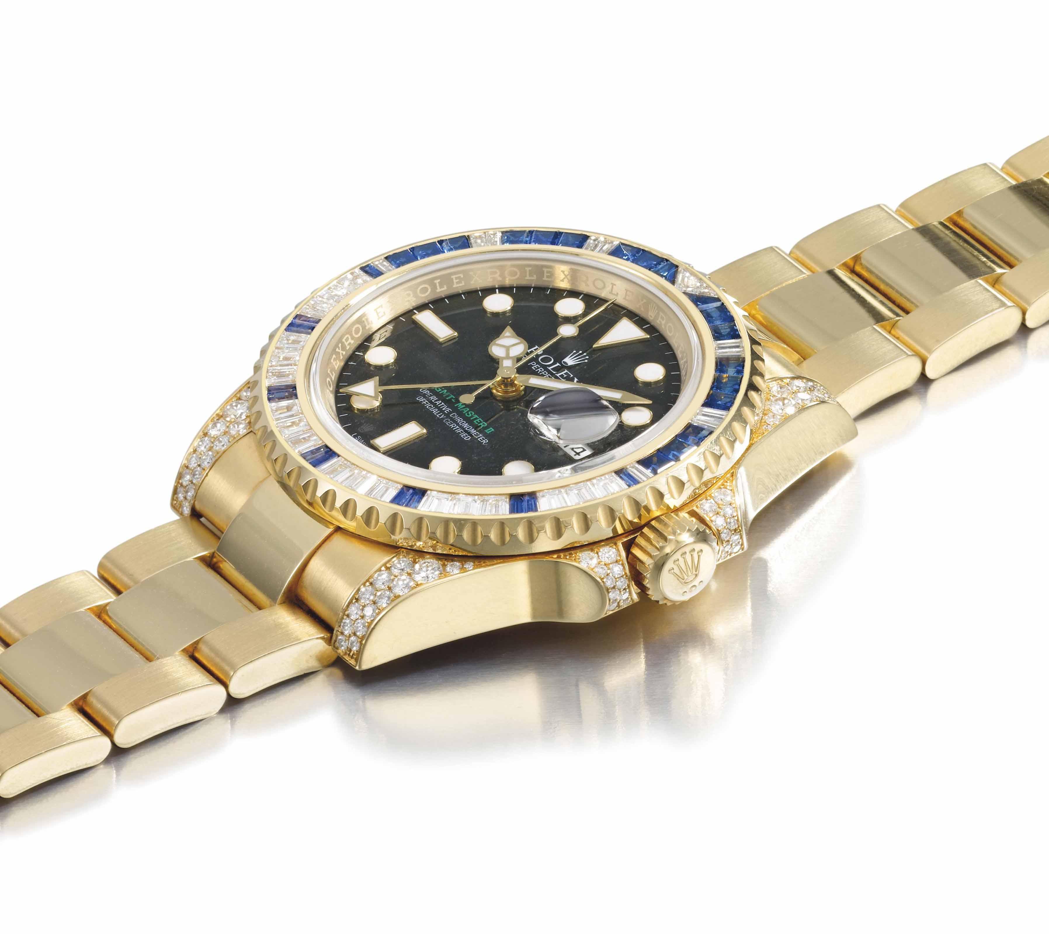 Rolex. A very impressive, rare
