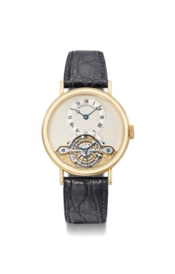 Breguet. A fine 18K gold one m