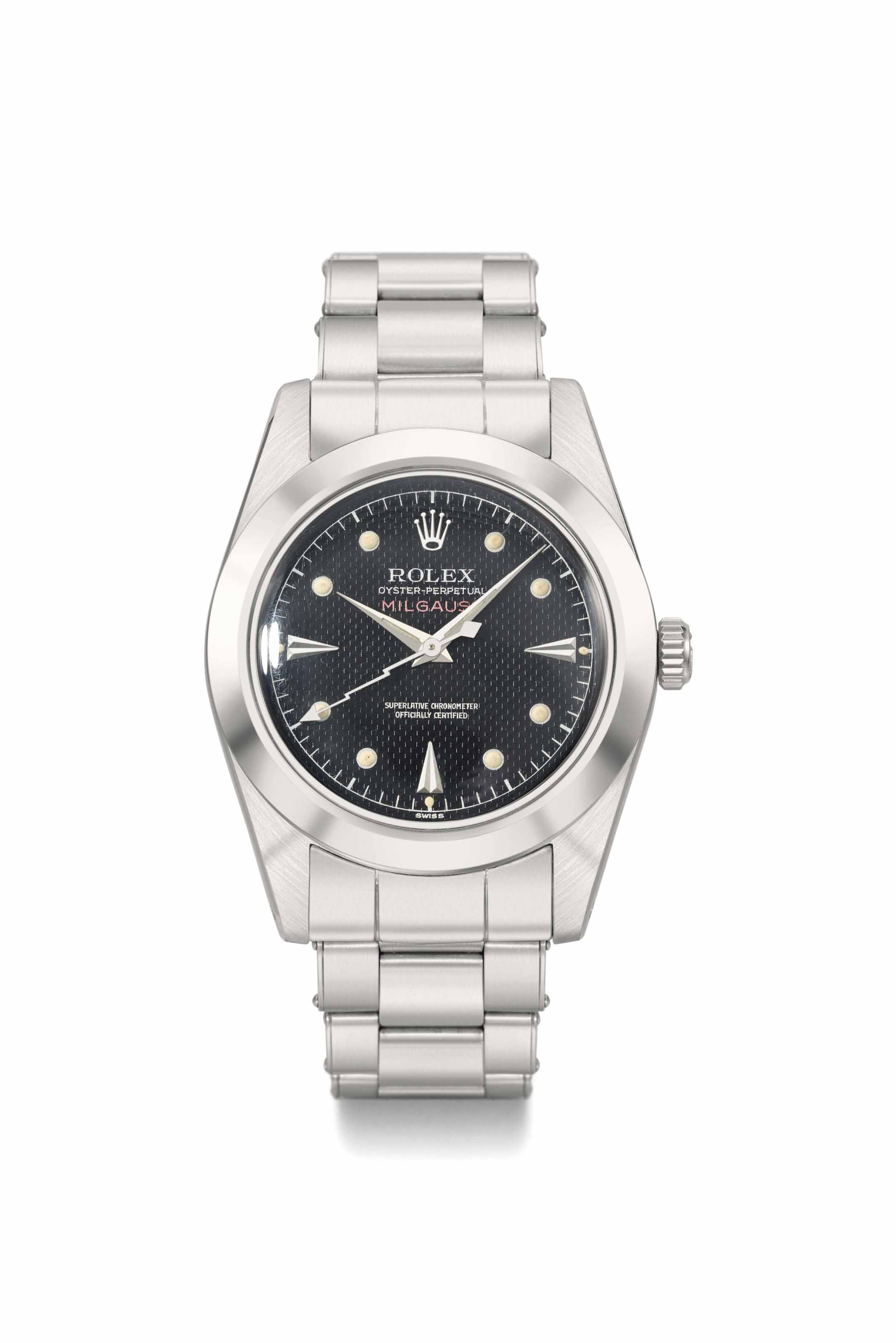 Rolex. A rare and attractive s