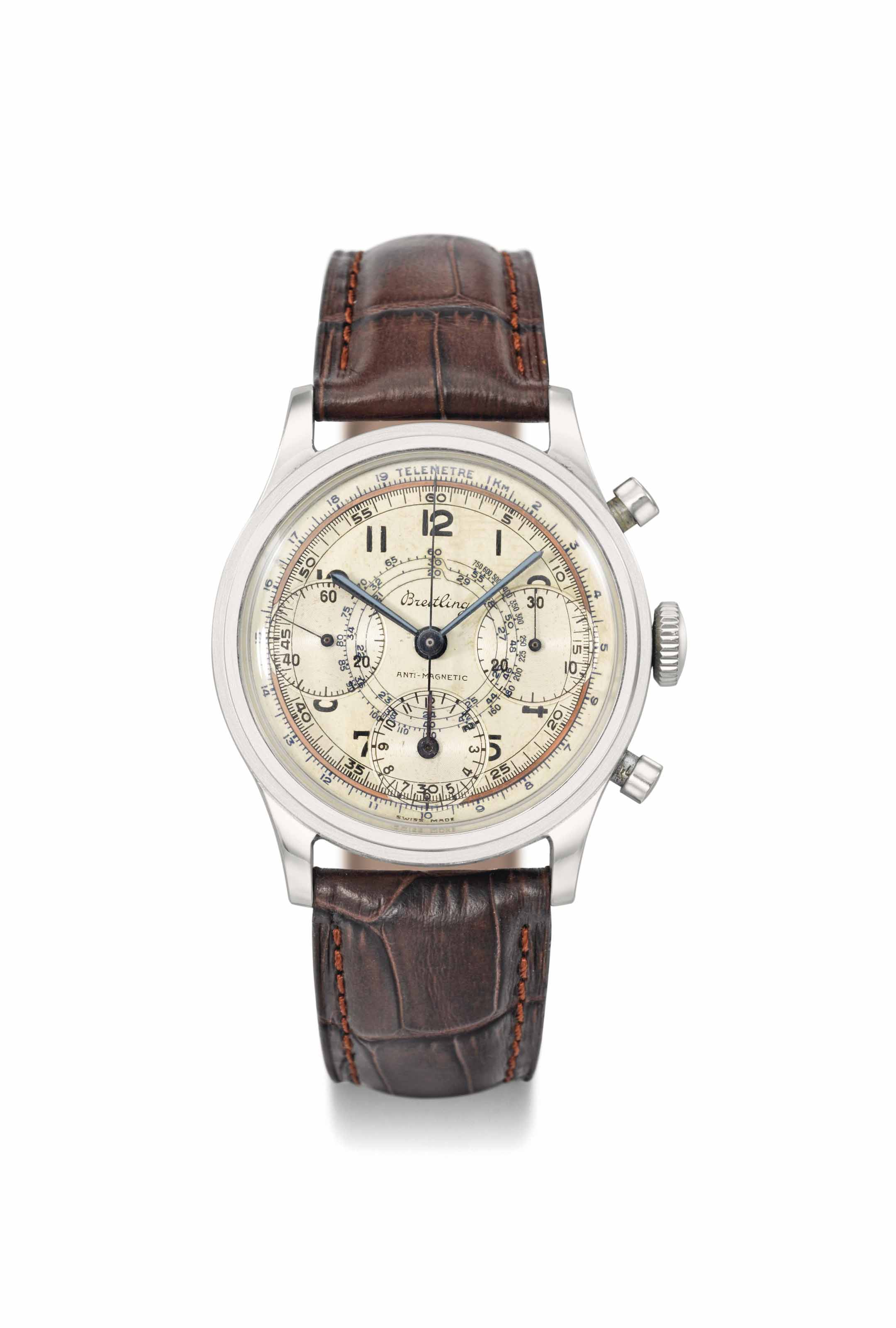 Breitling. A large, fine and a