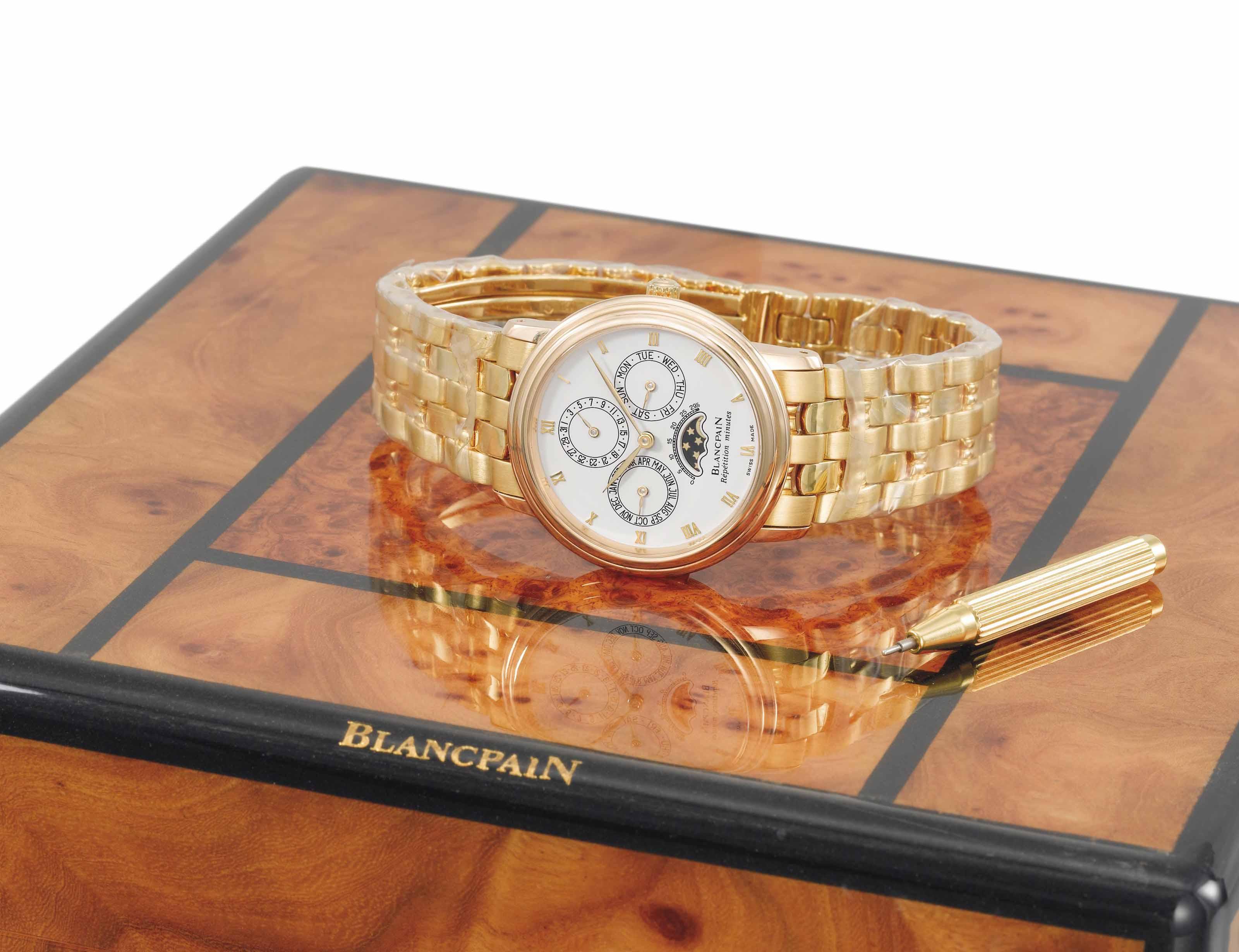 Blancpain. A fine and elegant