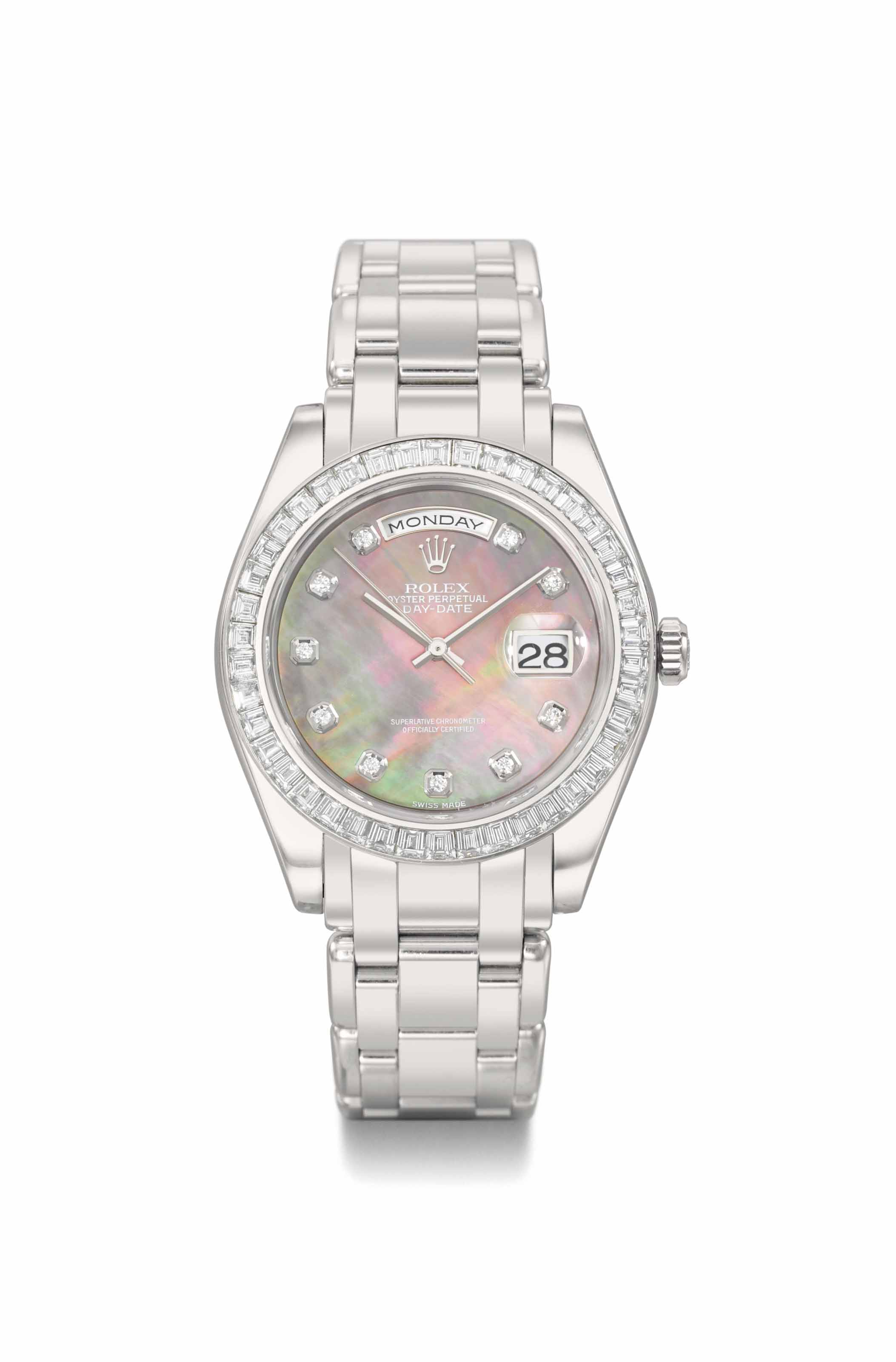 Rolex. An extremely fine and h