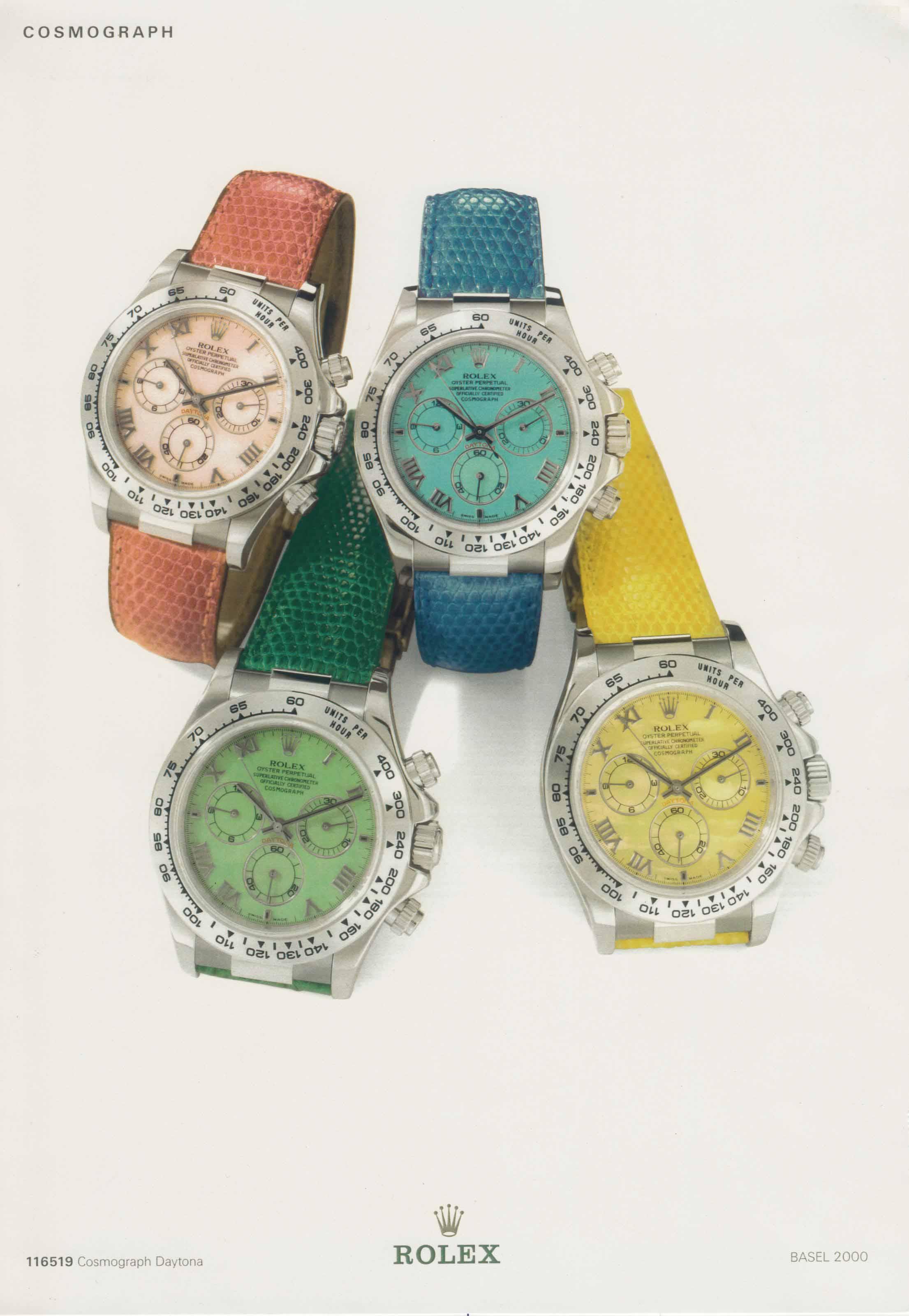 Rolex. A lot of four very rare