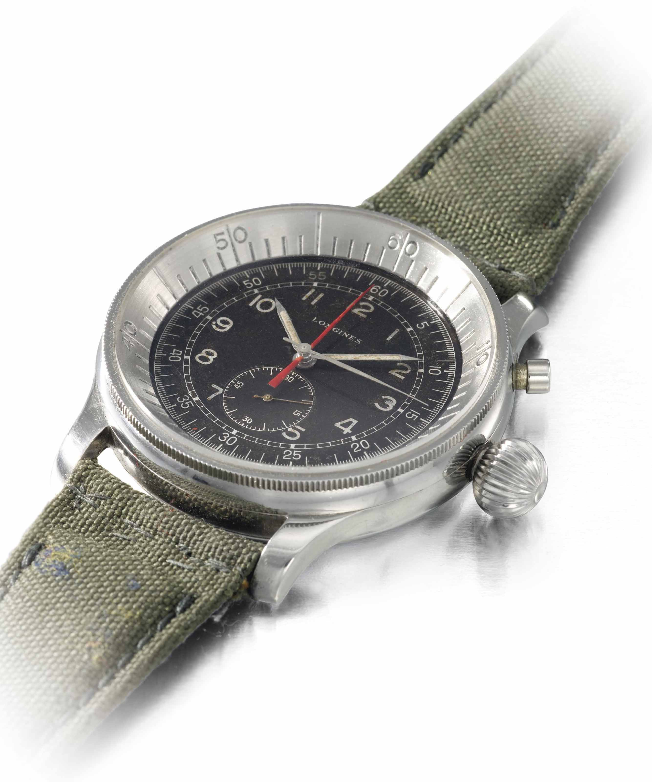 Longines. A rare and unusual,