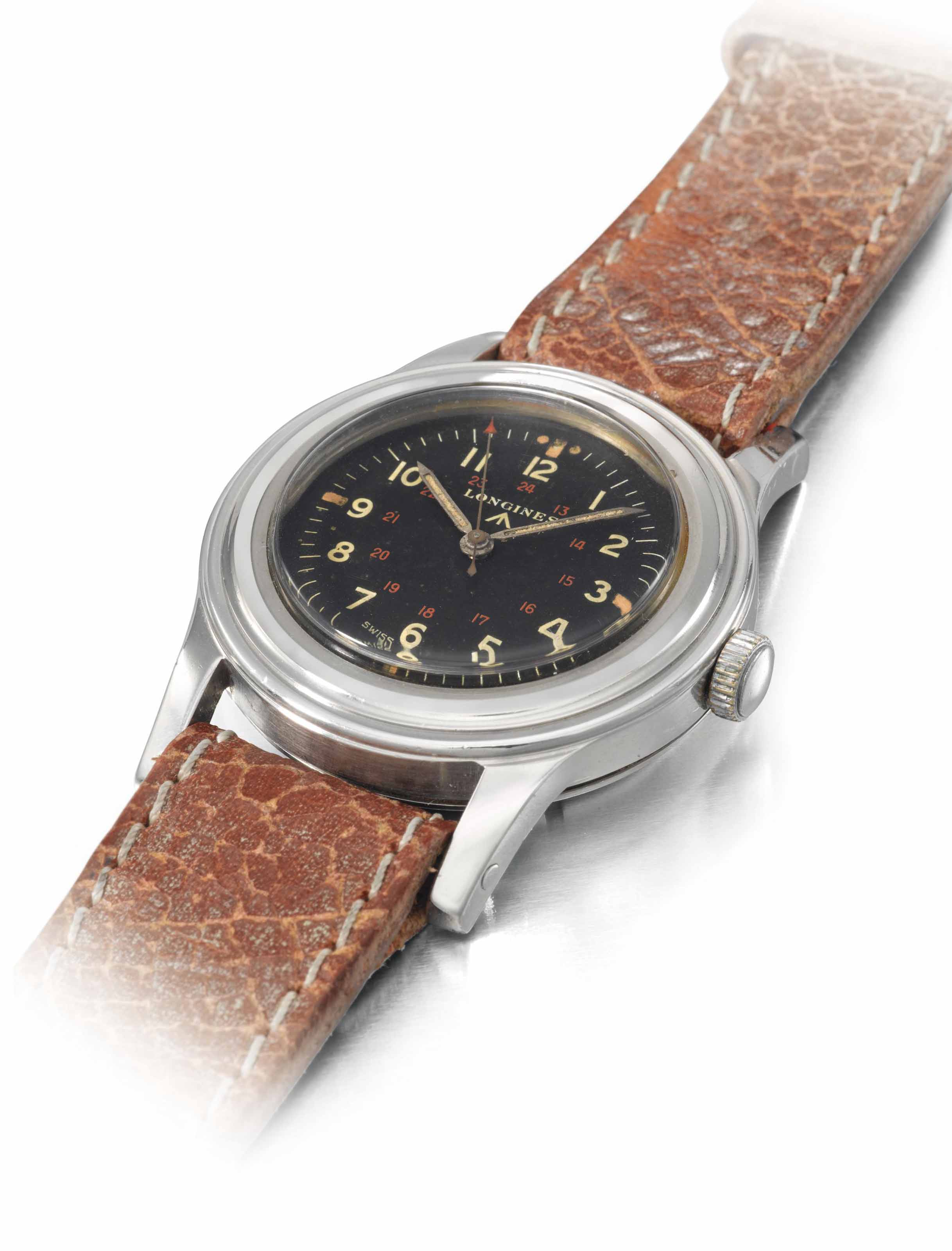 Longines. An extremely rare st