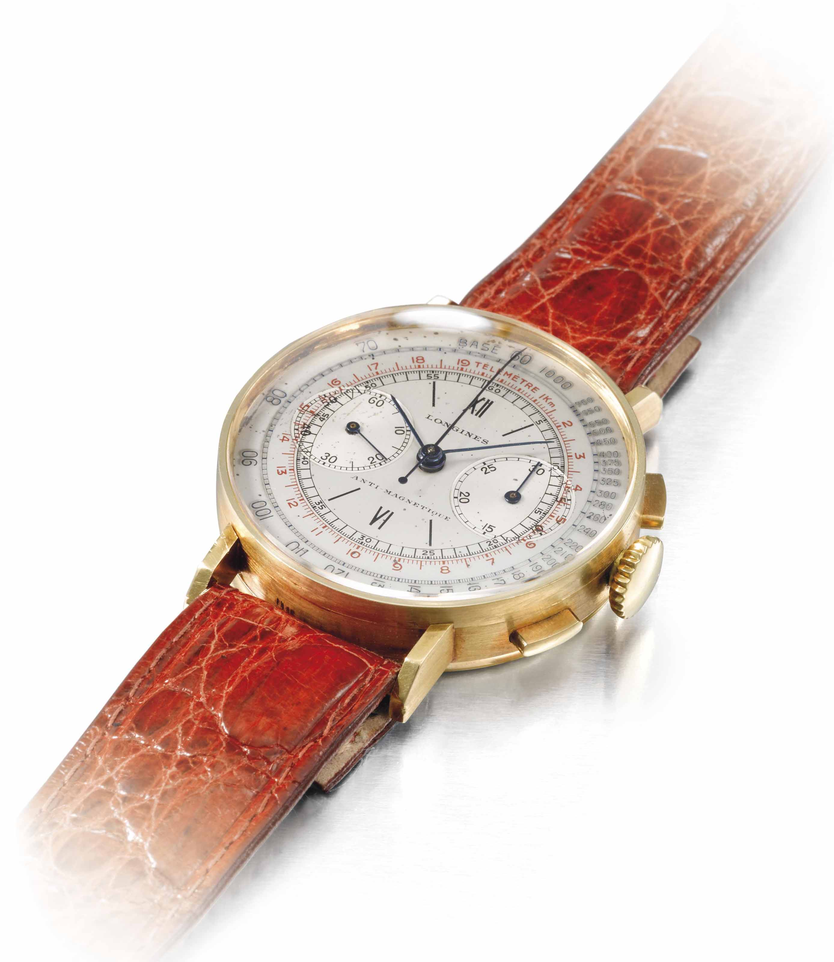 Longines. A fine and attractiv