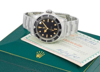 Rolex. An early, rare and extr