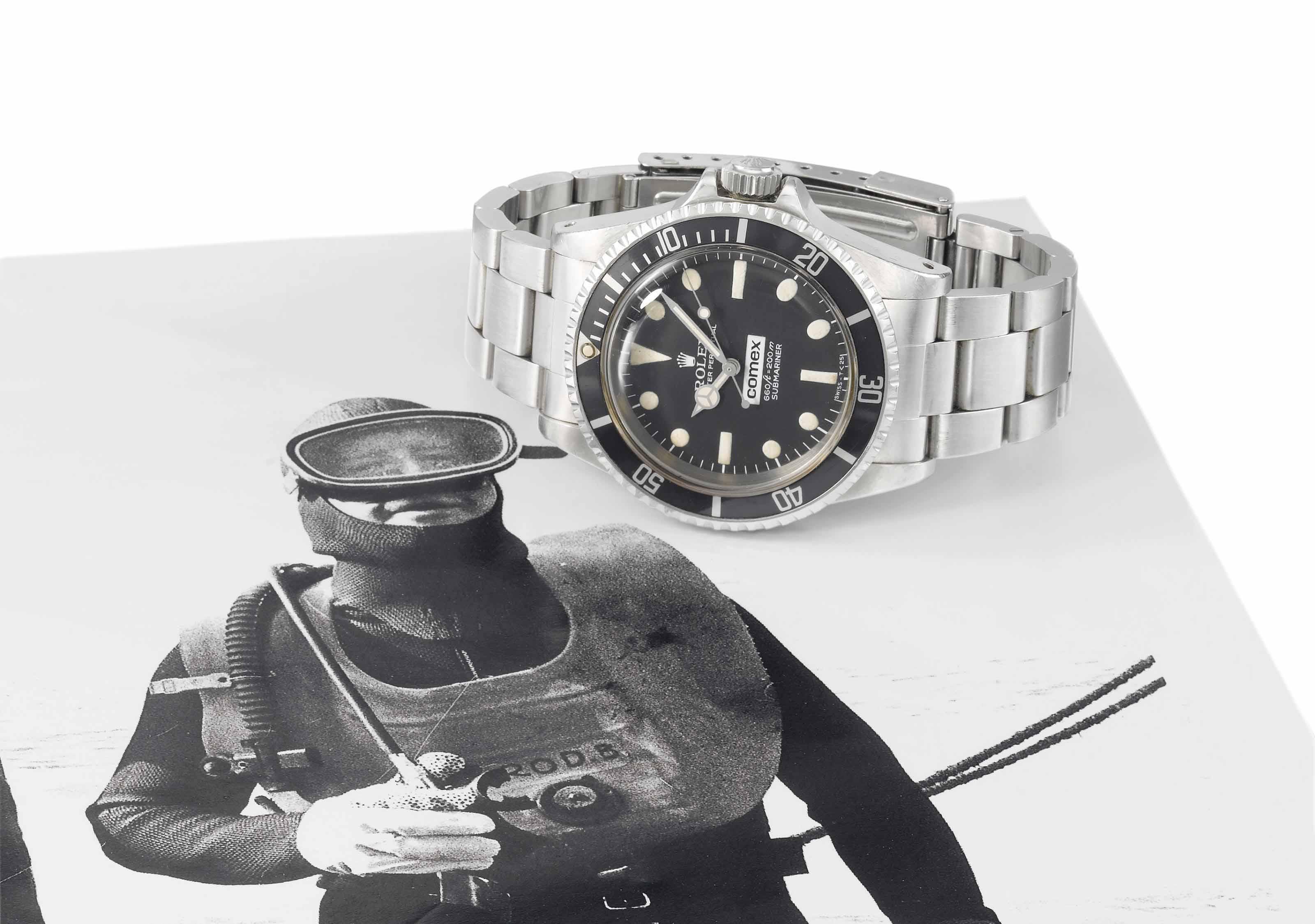 Rolex, made for Comex. A very