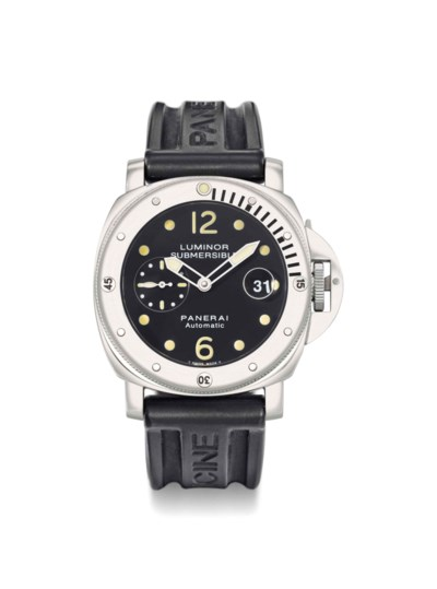 Panerai. A Stainless Steel Div