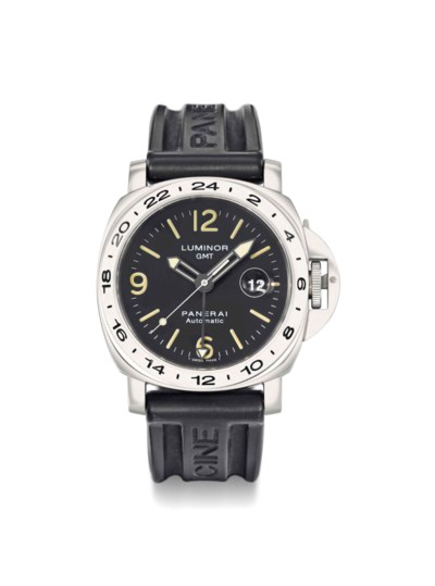 Panerai. A large stainless ste