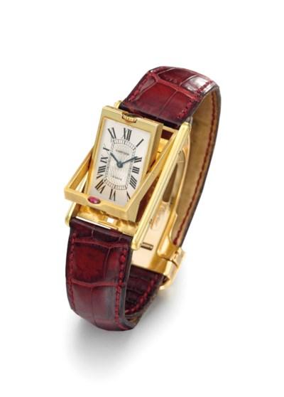 Cartier. An 18K gold limited e