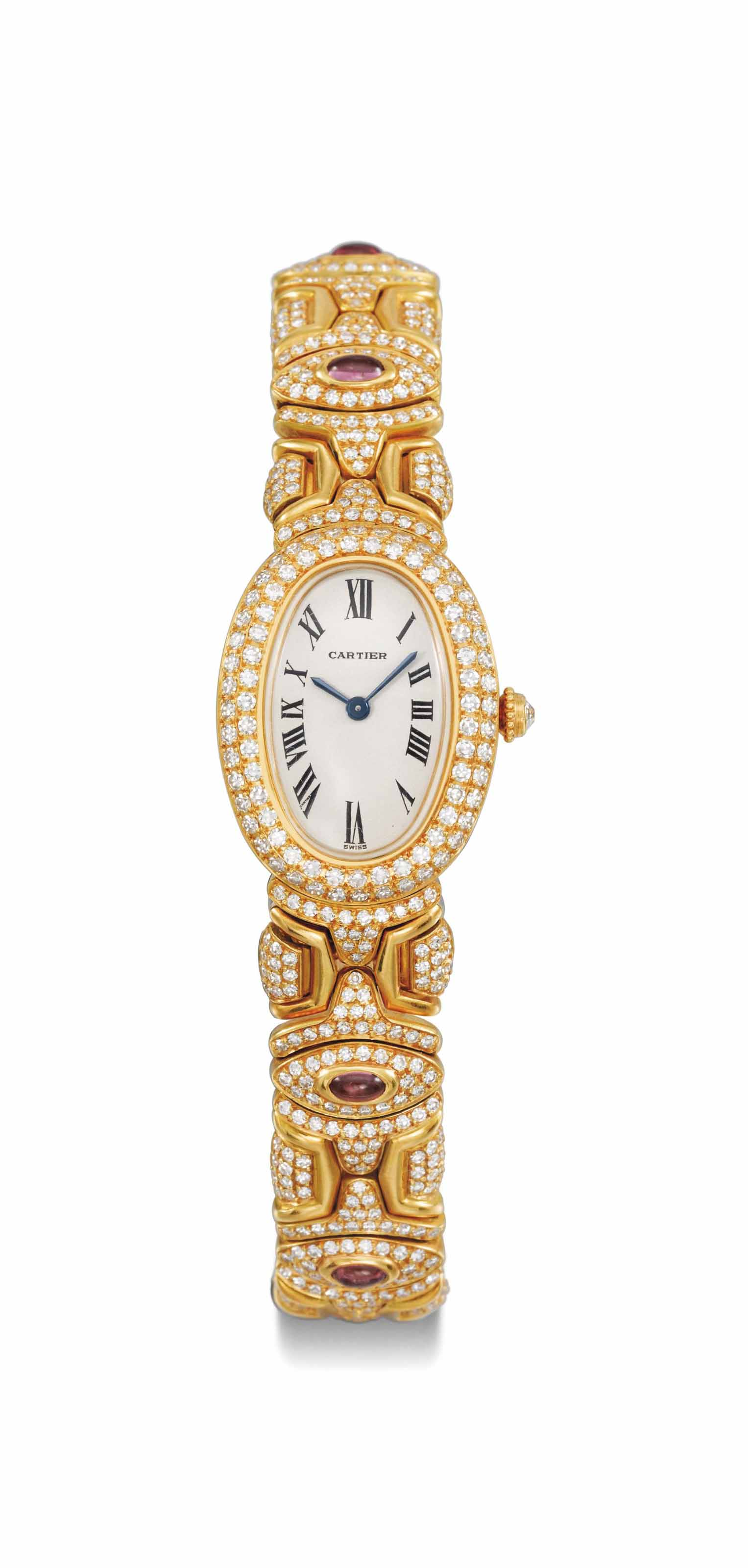 Cartier. A lady's fine and ele