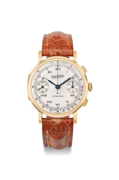 Eberhard. A fine and large 18K